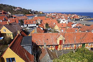 Gudjhem, Bornholm, Denmark, Europe