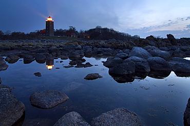 Svaneke Lighthouse, Bornholm, Denmark, Europe