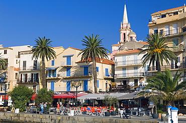Promenade of Calvi, Balagne, Corsica, France, Europe
