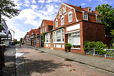 Typical architecture of Juist, Lower Saxony, Germany, Europe