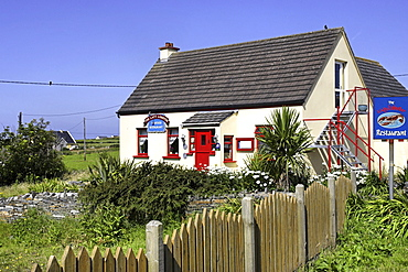 The Lazy Lobster Restaurant, Doolin, County Clare, Republic of Ireland, Europe