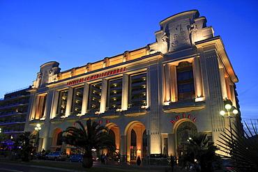 Hotel and Casino Palais de la Mediterranee, Promenade des Anglais, Nice, Departement Alpes Maritimes, Region Provence Alpes Cote d'Azur, France, Europe