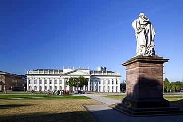 Museum Fridericianum, Frederick's Square, Documenta, Kassel, Hesse, Germany, Europe