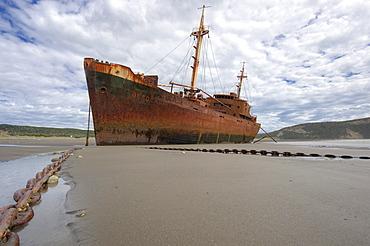 Shipwreck, Ushuaia, Tierra del Fuego, Patagonia, Argentina, South America
