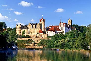 Schloss Bernburg castle, Saale, Saxony-Anhalt, Germany, Europe