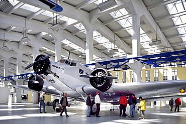 Hugo Junkers Technical Museum, Dessau, Saxony-Anhalt, Germany, Europe