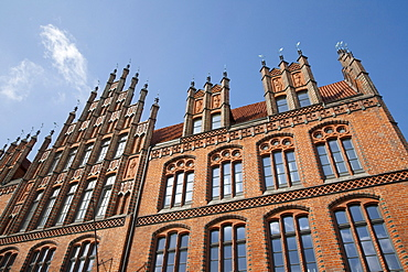 Old town hall, brick gothic, Hannover, Lower Saxony, Germany, Europe