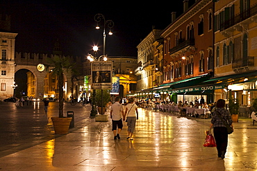 Piazza Bra, Verona, Italy, Europe