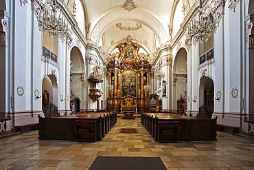 Ursulinenkirche, Ursuline church, in Linz, Upper Austria, Austria, Europe