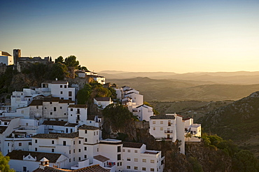 Casares, white village in Marbella, Andalucia, Spain, Europe