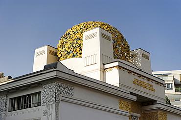 Secession, Vienna Secession exhibition building, designed by Joseph Maria Olbrich, 1st District, Vienna, Austria, Europe