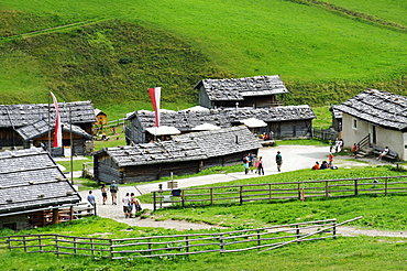 Fanealm, Fane Alm, Vals Valley, Puster Valley, Pfunderer Mountains, Alto Adige, Italy, Europe