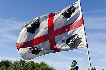 Flag of Sardinia, Italy, Europe