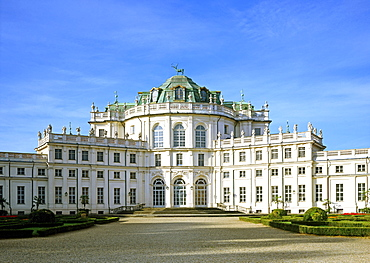 Stupinigi hunting lodge, built from 1729 by F. Juvarra, Turin province, Piedmont Italy, Europe