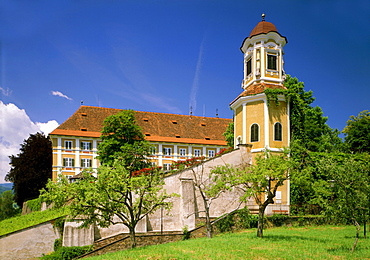 Schloss Stainz castle, former convent of the Canons Regular, Stainz, Styria, Austria, Europe