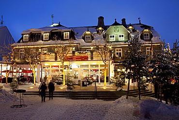 Winter market, Winterberg, Sauerland region, North Rhine-Westphalia, Germany, Europe
