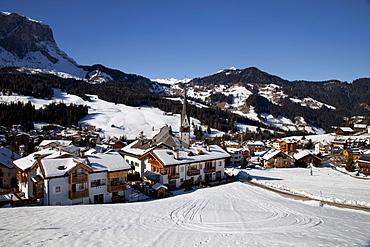 St. Leonhard, Fanes-Sennes-Prags Nature Park, Val Badia, Alta Badia, Dolomites, South Tyrol, Italy, Europe