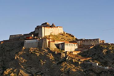 Fortress of Gyantse, Gyangze, Tibet, China, Asia