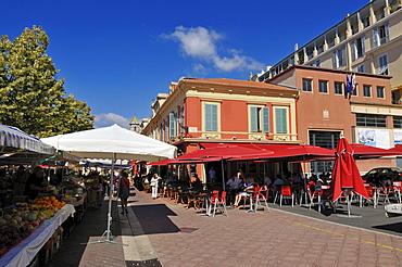 Place Pierre Gautier, Nice, Nizza, Cote d'Azur, Alpes Maritimes, Provence, France, Europe