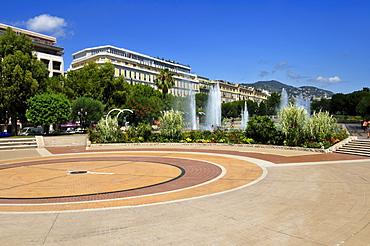 Place Massena, Nice, Nizza, Cote d'Azur, Departement Alpes Maritimes, Provence-Alpes-Cote díAzur, France, Europe
