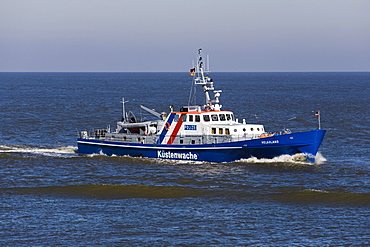 Police boat, Helgoland, Elbe estuary, Cuxhaven, Lower Saxony, Germany, Europe