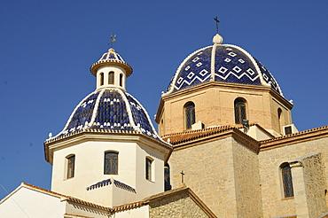Iglesia de Nuestra Senora del Consuelo, church, Altea, Costa Blanca, Spain, Europe
