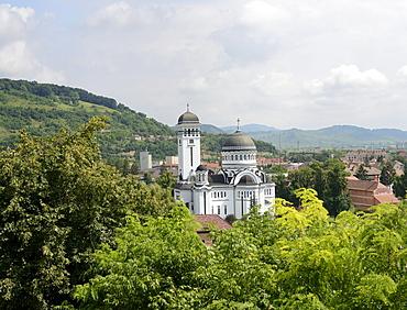 Orthodox church, Sighisoara, Romania, Europe