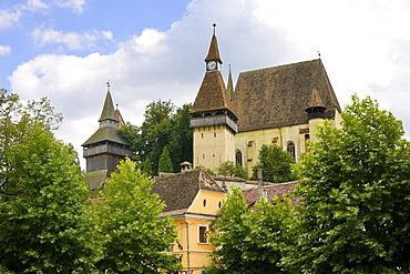 Fortified Church, UNESCO World Heritage Site, Biertan, Transylvania, Romania, Europe