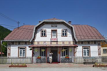 Cake shop, Ciocanesti, Suceava region, Romania, Europe