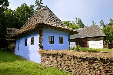 Farm with workshop, Astra open-air museum, Sibiu, Romania, Europe