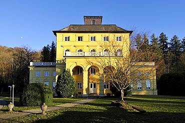 Schloss Allmannshausen Castle, Lake Starnberg, Berg district, Upper Bavaria, Bavaria, Germany, Europe