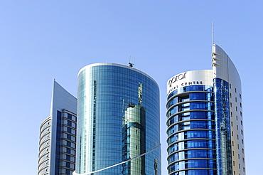 Financial Centre in Doha, Qatar, Arabian Peninsula, Persian Gulf, Middle East, Asia