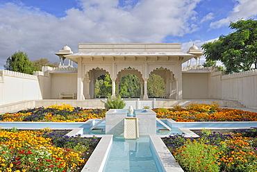 Indian Char Bagh Garden, Hamilton Gardens, Hamilton, North Island, New Zealand