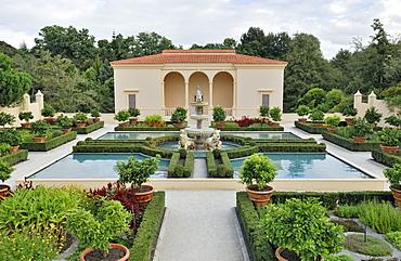 Italian Renaissance Garden, Hamilton Gardens, Hamilton, North Island, New Zealand