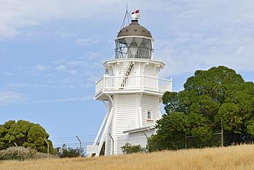 Lighthouse at Moeraki, east coast, South Island, New Zealand