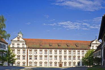 Convent building Kloster Kirchberg monastery, Sulz am Neckar, Black Forest, Baden-Wuerttemberg, Germany, Europe