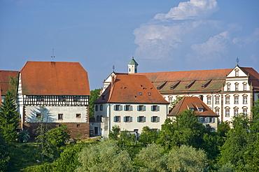 Kloster Kirchberg convent, Sulz am Neckar, Black Forest, Baden-Wuerttemberg, Germany, Europe