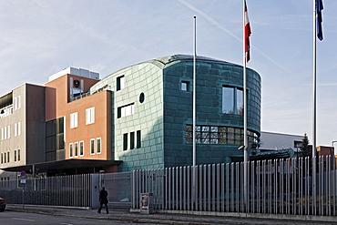 Austrian Embassy, architect Hans Hollein, Diplomatic Quarter, Berlin-Mitte, Germany, Europe