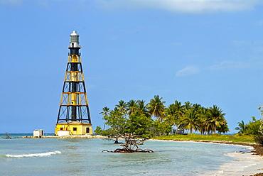 Lighthouse of Cayo Jutias, Cuba, Caribbean