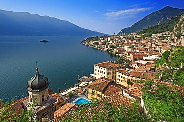 Limone sul Garda on Lake Garda, Lombardy region, Italy, Europe