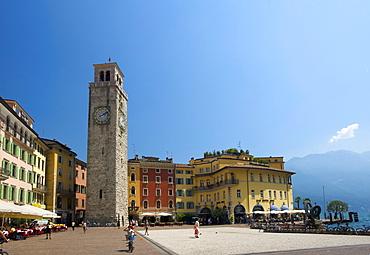 Riva del Garda, Lake Garda, province of Trento, Trentino, Italy, Europe