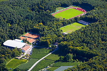 Sports grounds, Kaltern, province of Bolzano-Bozen, Italy, Europe
