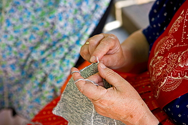 Knitting, Alto Adige, Italy, Europe