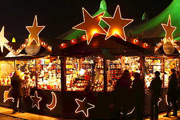 Tollwood Winter Festival, Theresienwiese, Munich, Bavaria, Germany, Europe
