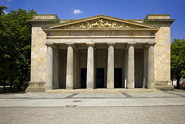Neue Wache, New Guard House, the Central Memorial of the Federal Republic of Germany for the Victims of War and Tyranny, Unter den Linden Berlin, Germany, Europe