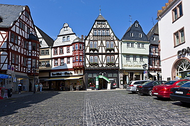 Historic town centre and marketplace of Limburg, Hesse, Germany, Europe