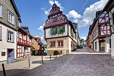 Idstein, German Half-Timbered House Road, Rheingau-Taunus district, Hesse, Germany, Europe