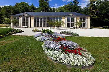 Orangery in Schloss Rosenau Palace, Roedental, Coburg district, Upper Franconia, Bavaria, Germany, Europe