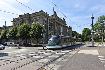 National Library on Place de la Republique, Strasbourg, Alsace, France, Europe
