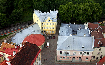 View over Tallinn, Estonia, Baltic States, Europe